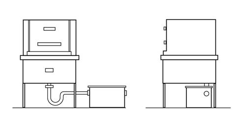 garbage disposal schematic with Grease Trap Installation Diagram on Infdishwasher installation as well 1992 Harley Wiring Diagram besides Dishwasher Wiring Code besides Showthread besides Plumbing Drain Pipe.